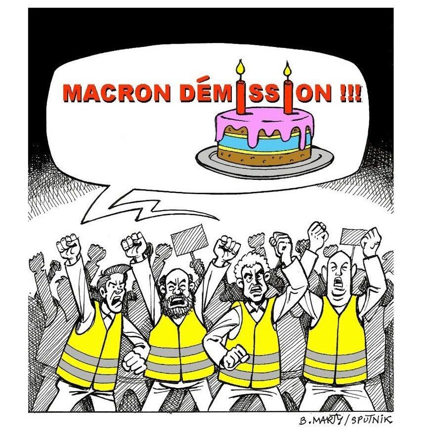 7 mai 2019: deuxième anniversaire de l'élection d'Emmanuel Macron