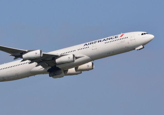 Un Airbus A-340 d'Air France