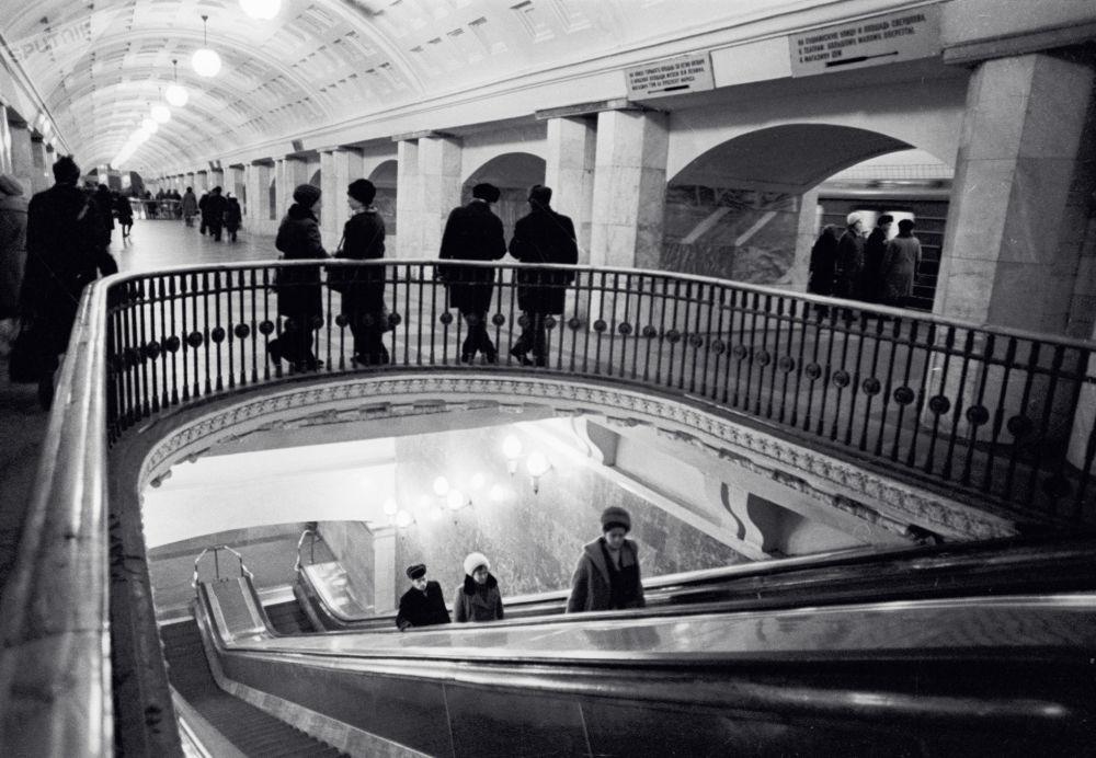 Le métro de Moscou hier et aujourd'hui