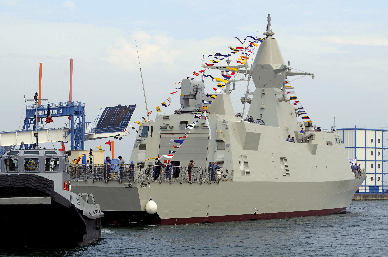 La corvette lance-missiles émiratie de classe Baynunah de fabrication française