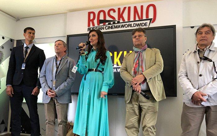 au festival de cannes  le pavillon russe avec roskino inaugur u00e9