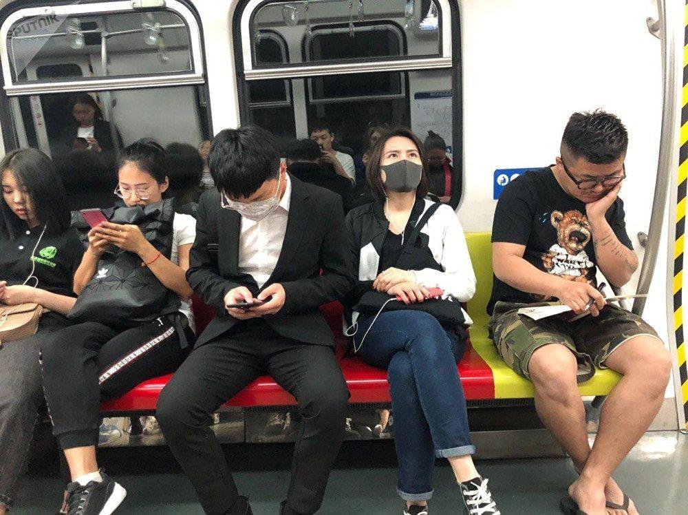 Métro en Chine