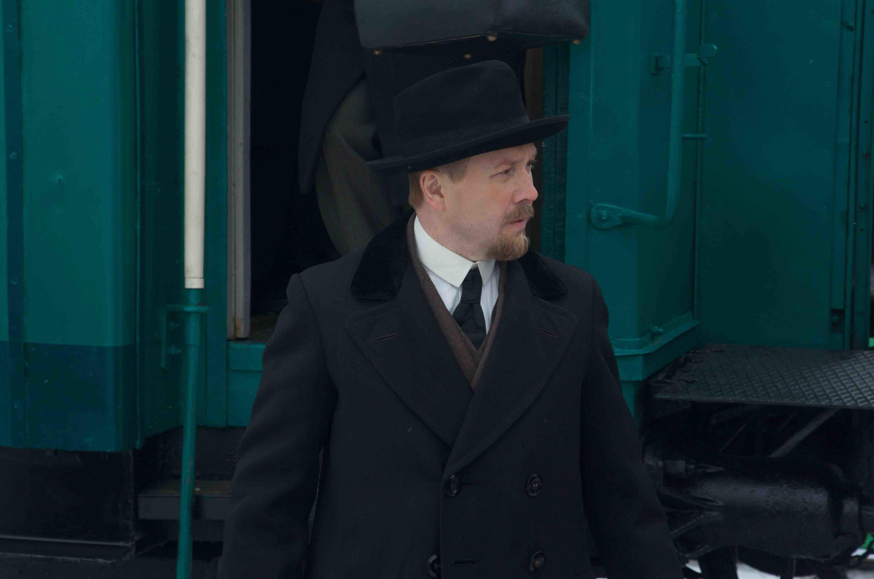 Une image du film Lenine. L'inevitable de Vladimir Khotinenko, présenté au Marche du Film par Planeta Inform