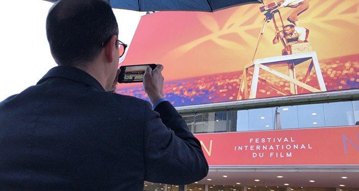 Ambiance pluvieuse à Cannes