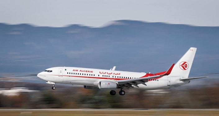 un avion d'Air Algérie