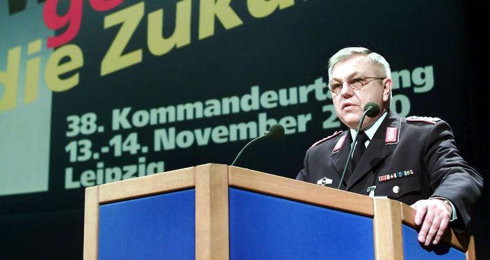Harald Kujat, ancien président du Comité militaire de l'Otan