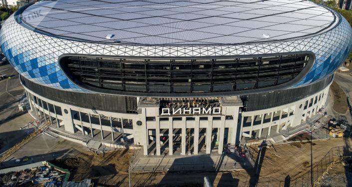 Stade Dynamo de Moscou, 2018