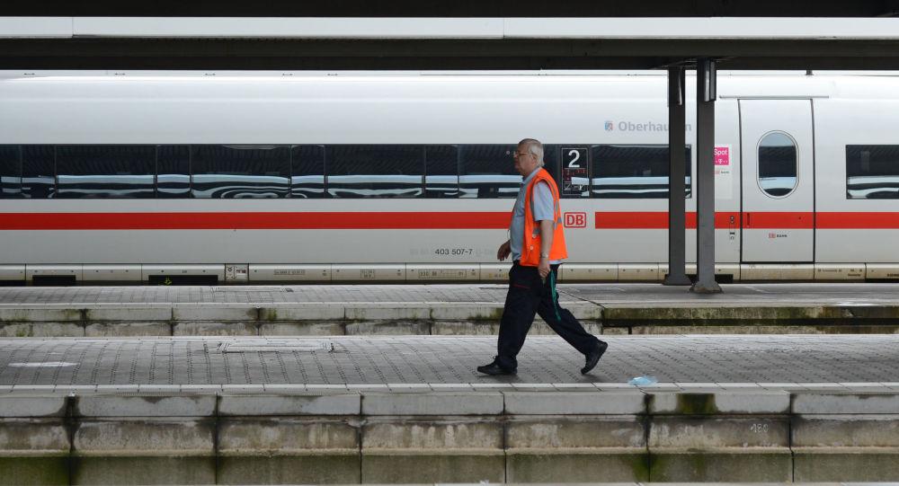 Un train de la DB à Munich