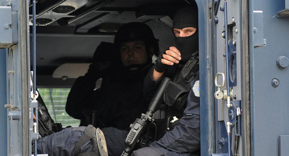 Des unités spéciales de la police kosovare dans le nord du Kosovo-et-Métochie