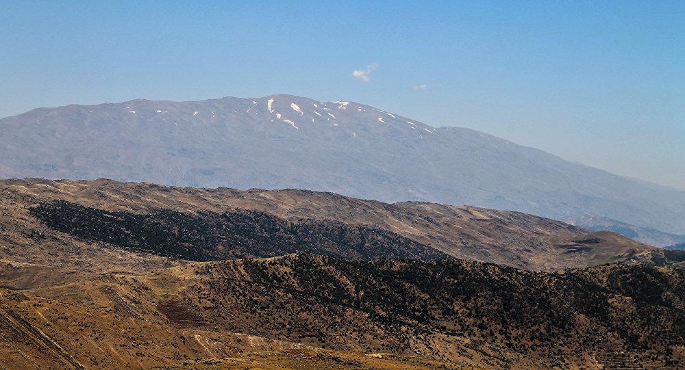 Mont Hermon vu depuis le Liban