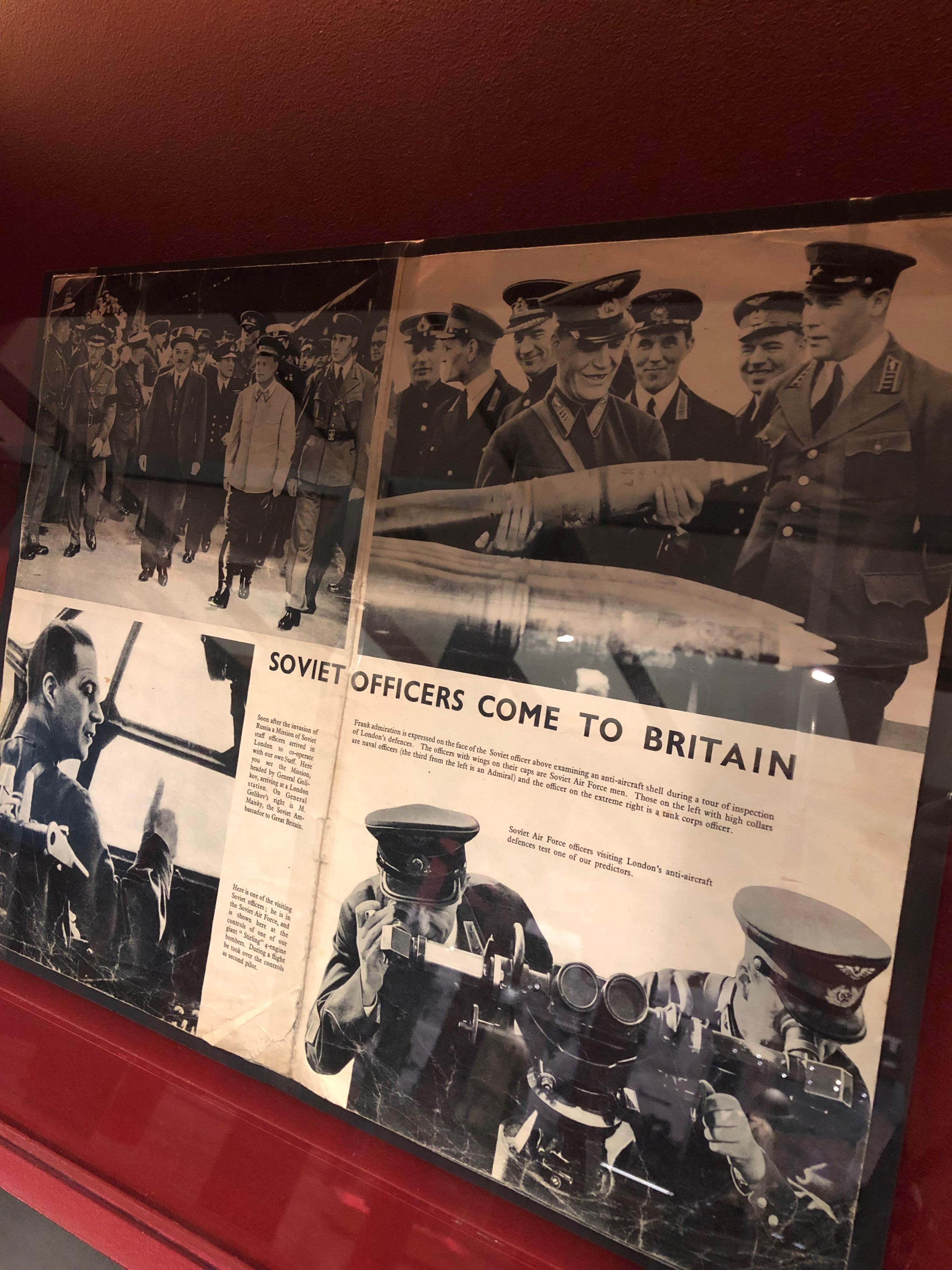 L'exposition «Le second front»