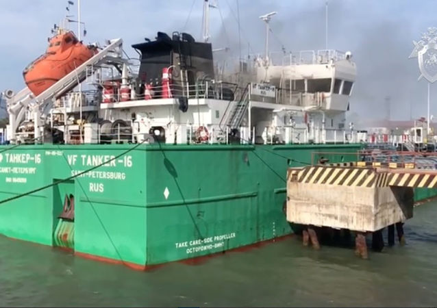 Explosion sur un pétrolier dans le port de Makhatchkala