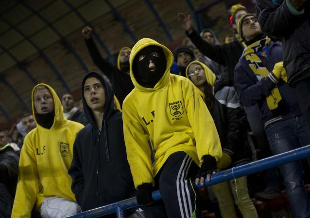 Des fans de Beitar Jerusalem