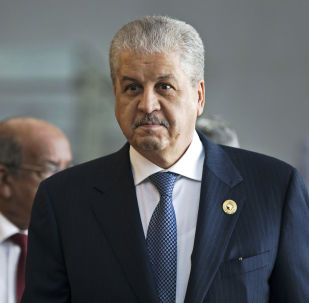 l'ancien Premier ministre algérien Abdelmalek Sellal