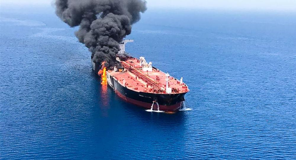 incident en mer d'Oman, 13 juin