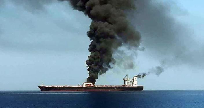 Incident dans le golfe d'Oman