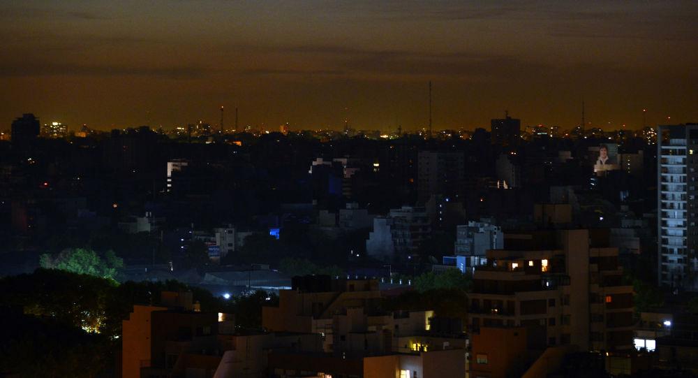 Une panne d'électricité en Argentine le 7 novembre 2012