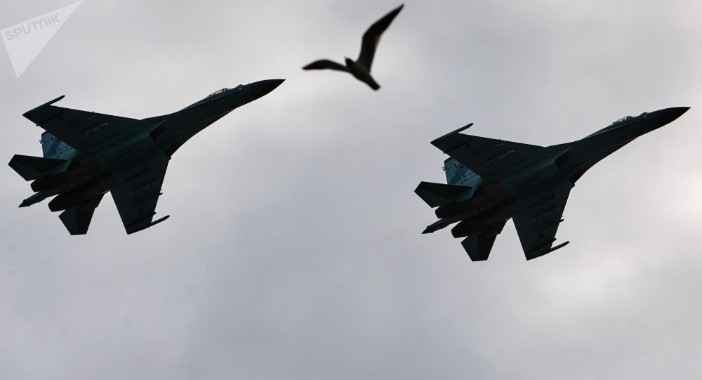 Les chasseurs Su-27