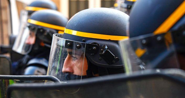 Des agents de la CRS (image d'illustration)
