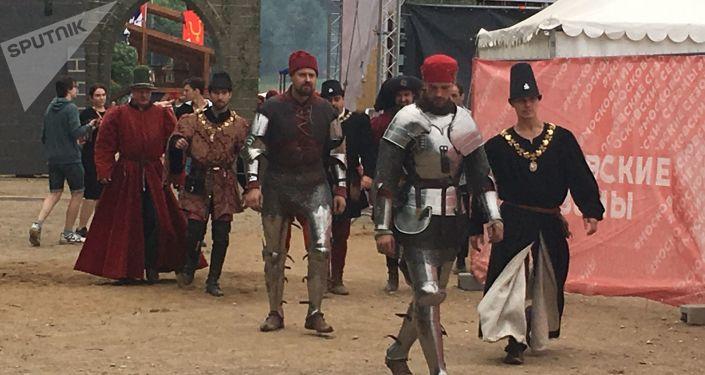 Le tournoi Saint-Georges à Moscou dans le cadre du festival Les temps et les époques en 2019