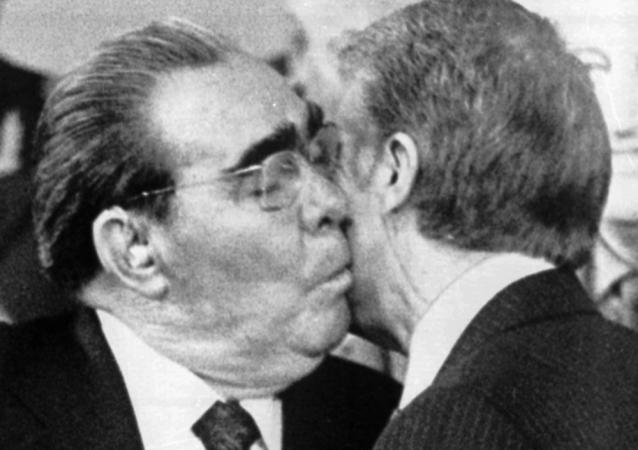 Brejnev et Carter à Vienne