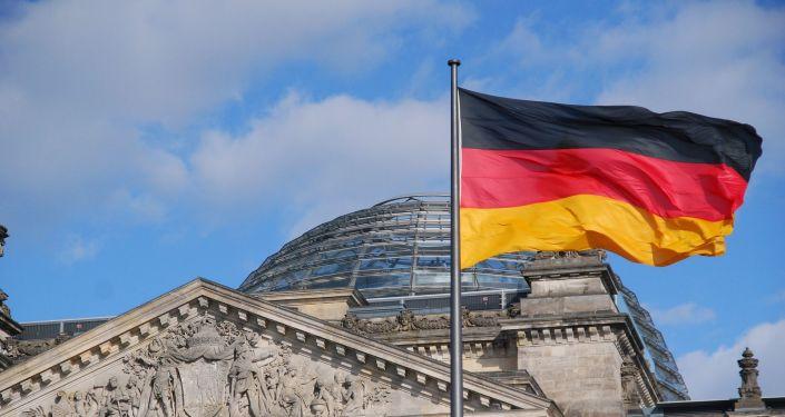 Le drapeau allemand