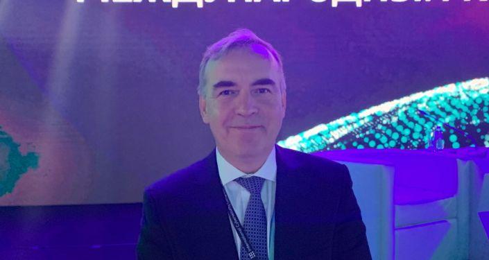 Valery Shorzhine, vice-président de MTS