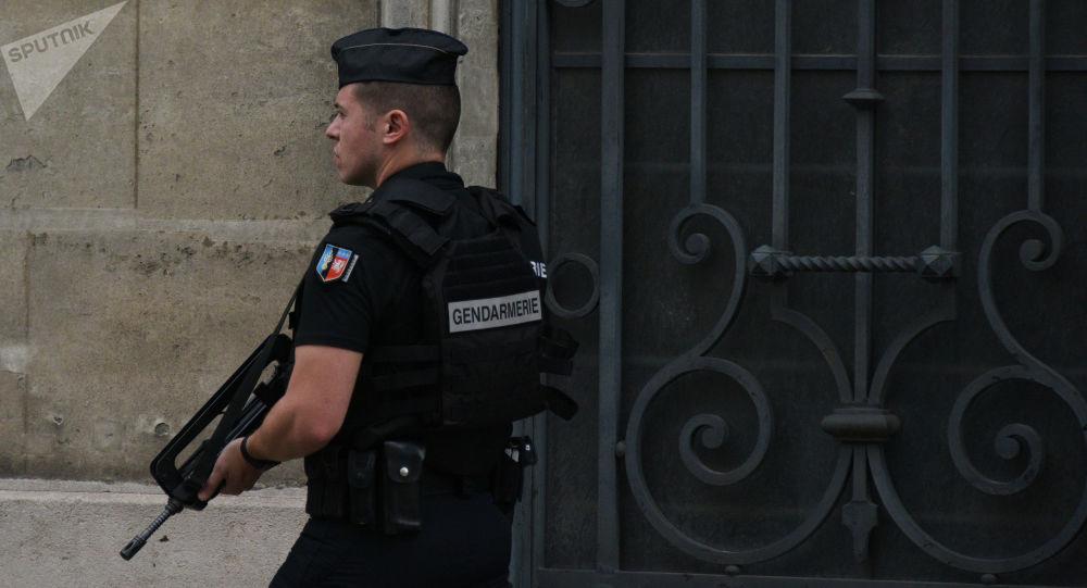 Un gendarme français (image d'illustration)