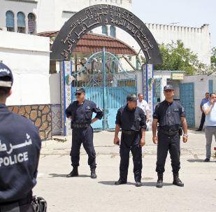 la prison El Harrach