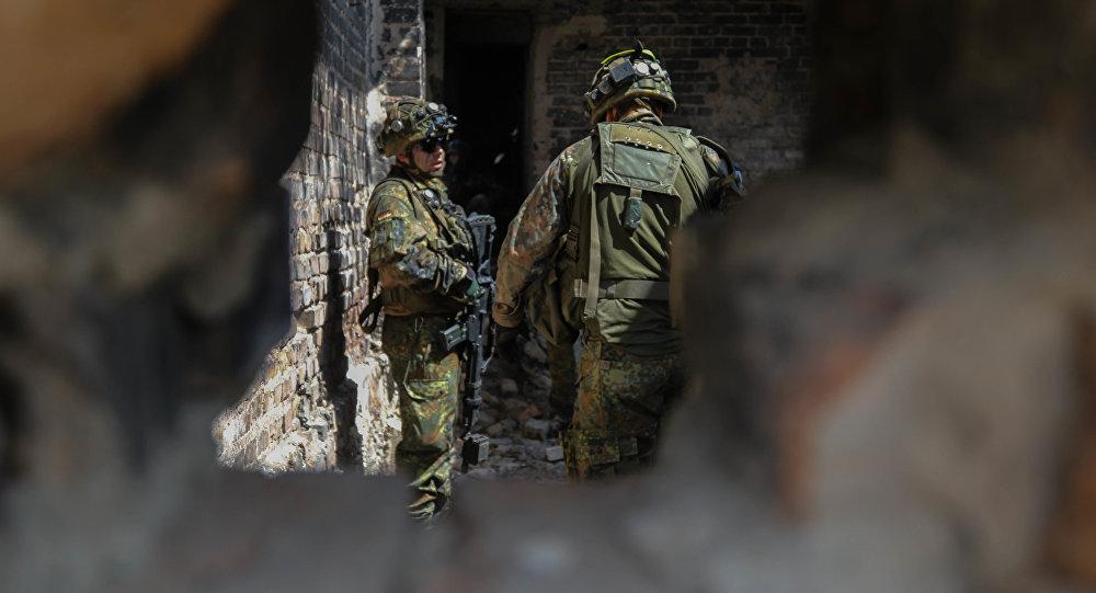Les exercices à la frontière russe considérés comme un affront aux Russes par un parti allemand