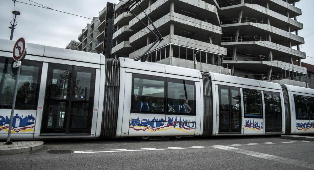 Le tram à Lyon