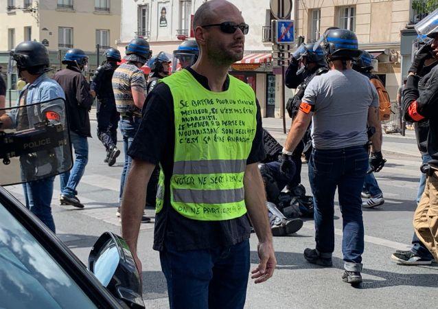 Acte 35 des Gilets jaunes à Paris