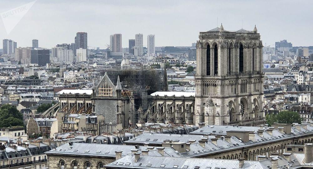 Notre-Dame de Paris en travaux, 2019