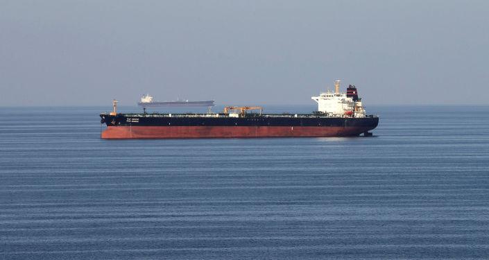 Un pétrolier dans le détroit d'Ormuz (image d'illustration)