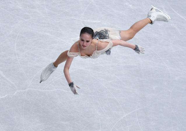 Alina Zagitova, championne russe de patinage artistique