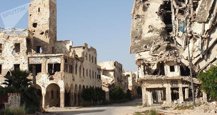 Benghazi détruite pendant l'occupation de Daech*
