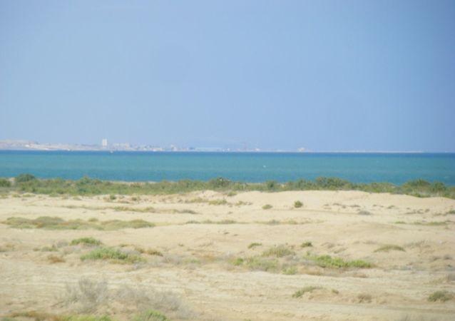 La côte azerbaïdjanaise de la mer Caspienne (archive photo)
