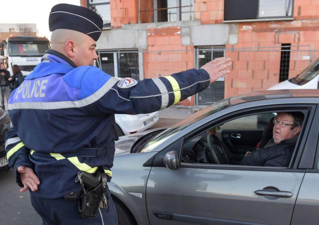 Un policier à Lille