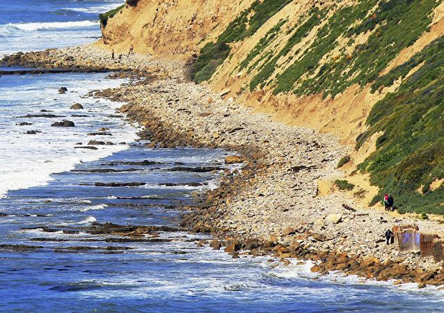 Une plage près de Los Angeles