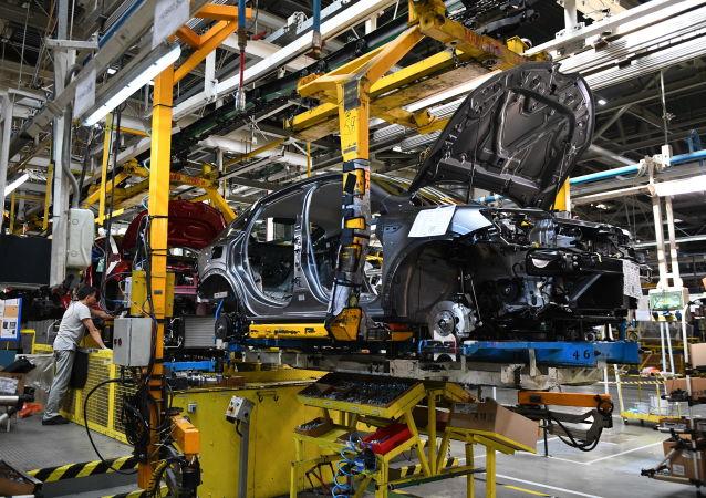 Production automobile (image d'illustration)
