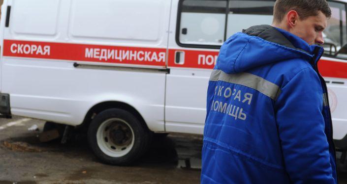 Une ambulance russe