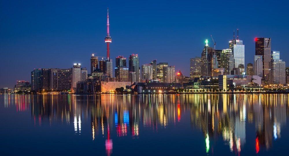 Toronto vue de nuit