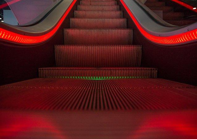 escalier roulant (image d'illustration)