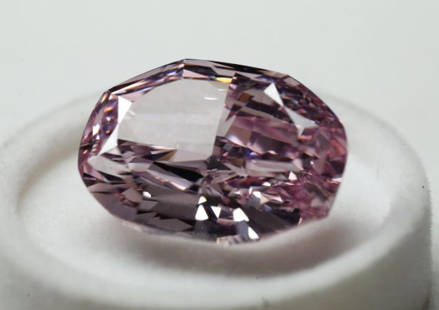 Diamant rose d'Alrosa