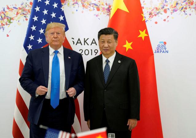Donald Trump et Xi Jinping lors du sommet G20 à Osaka, le 29 juin 2019