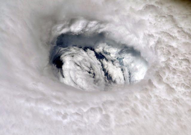 L'ouragan Dorian vu depuis l'espace