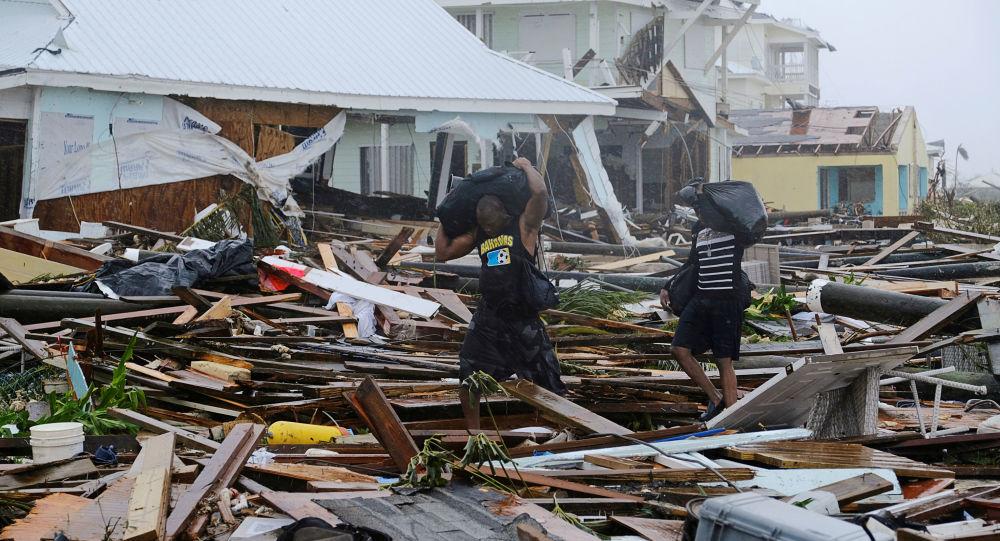 L'ouragan Dorian a dévasté la ville de Marsh Harbour, sur les îles Abacos aux Bahamas