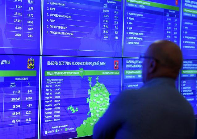 Les élections municipales et régionales en Russie, le 8 septembre 2019