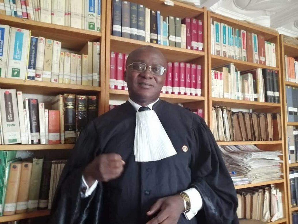 Me Christian Bissou, président de la Commission des droits de l'homme au barreau du Cameroun
