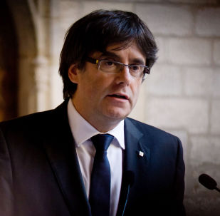 Carles Puigdemont, ex-président de la généralité de Catalogne